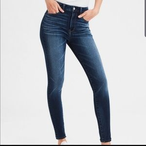 American Eagle Super High Rise Skinny Jeans 10